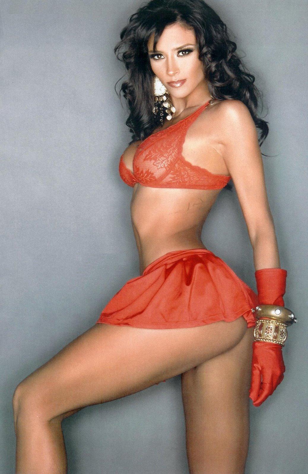 Dorismar Embarazada Desnuda en Playboy - Las