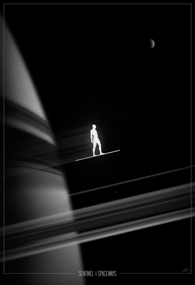 Silver Surfer-poster-Marko Manev