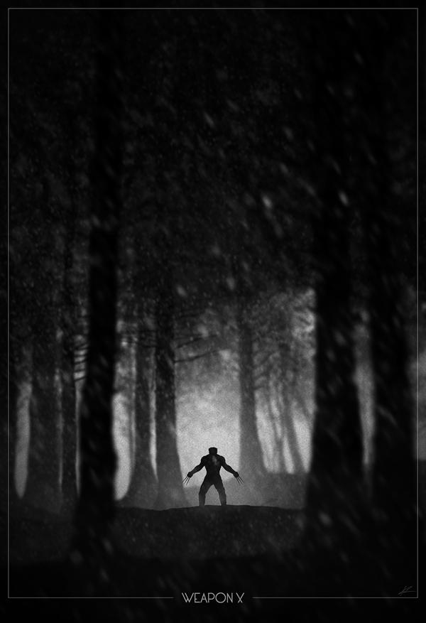 Wolverine-Weapon-X-poster-Marko-Manev